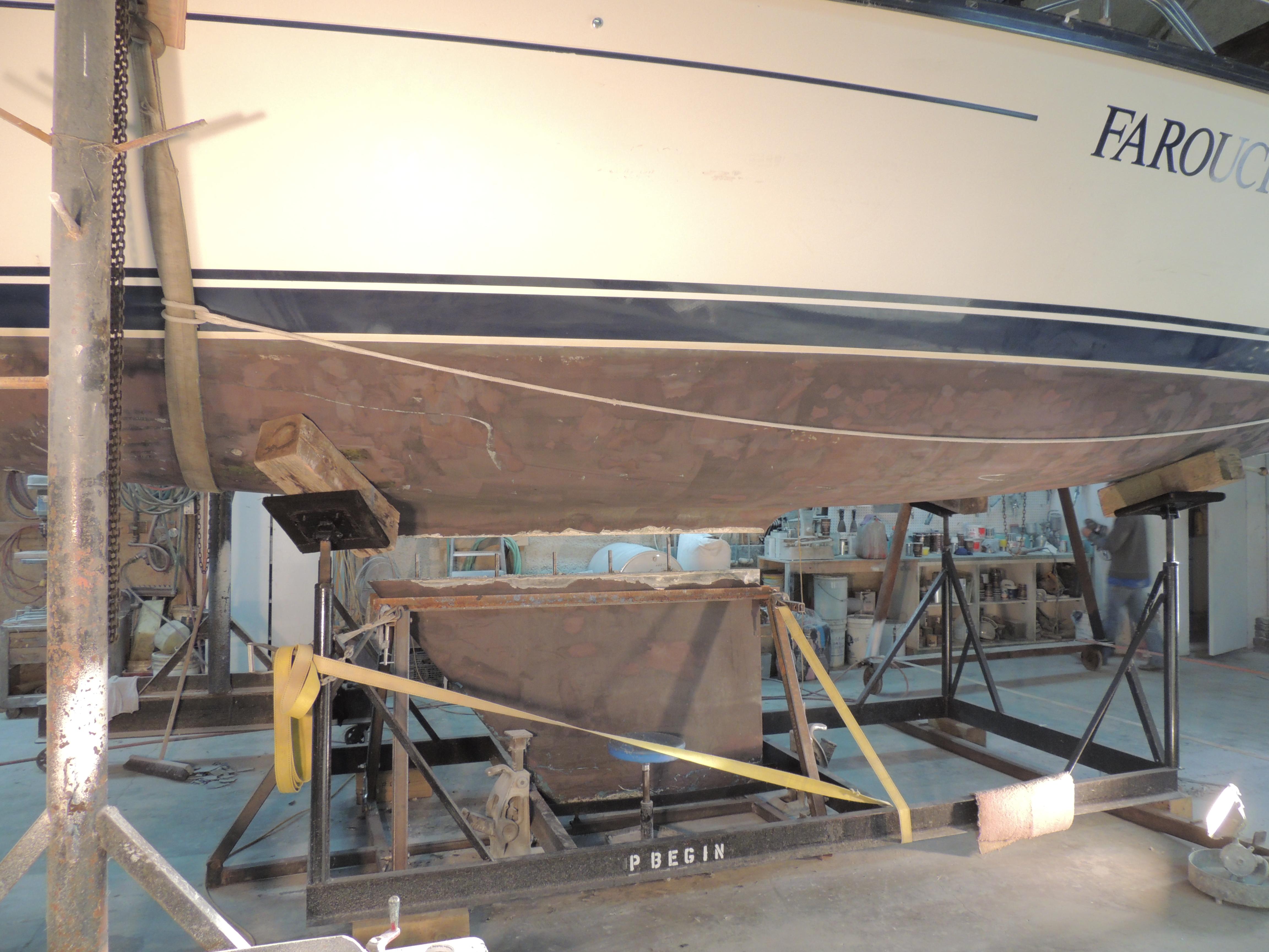 Réparation bateau