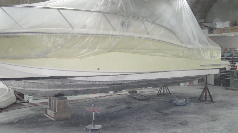 reparer coque bateau